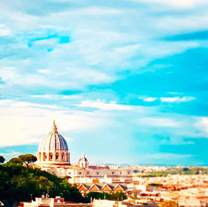 San Pietro Roma vista