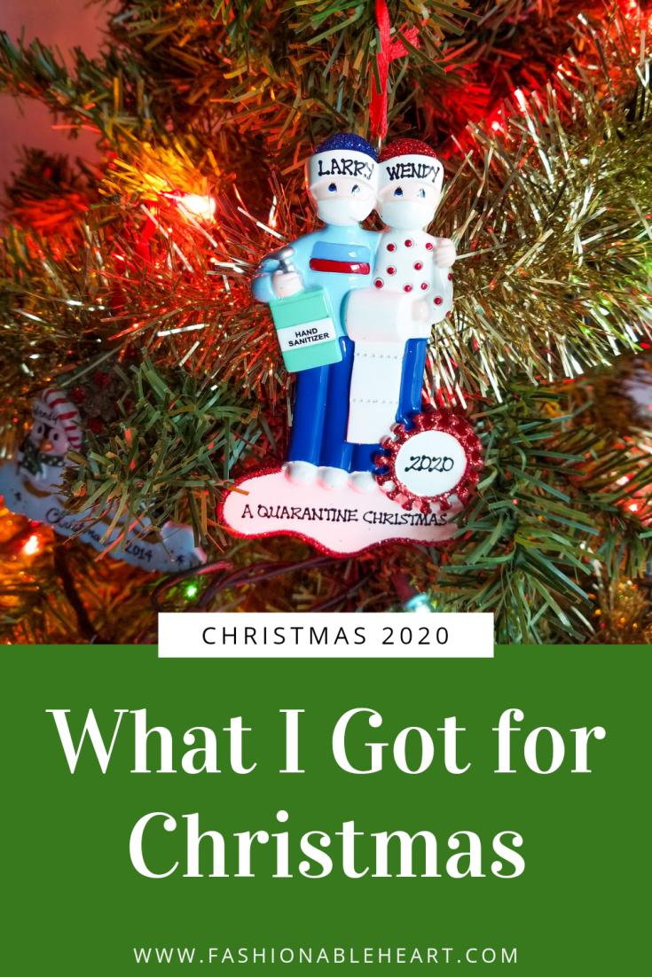 bblogger, bbloggers, lifestyle blogger, what i got for christmas, stocking stuffers, ornament, retrofestive, covid ornament