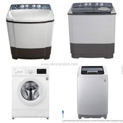 mesin cuci lg 1 dan 2 tabung