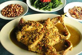 Resep Masakan Ayam Betutu Gilimanuk Khas Bali