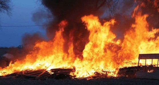 Why angry youths set Imo INEC office ablaze