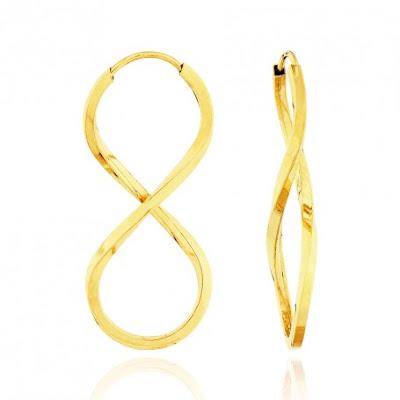 Espaço Hair  Brincos de Ouro Aubra Joias 42df0c4fdd