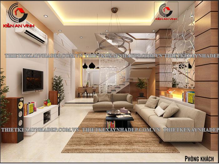 Mẫu thiết kế nhà ống 2 tầng diện tích 4x14 ở quê gia đình chị Lan Phong-khach-triet3