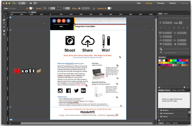 Adobe Muse CC 2017 DMG File For Mac OS Direct Download Link