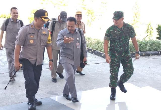 Staf Menko Polhukam RI Bidang Koordinasi Pertahanan Negara, Kunker Ke Selayar