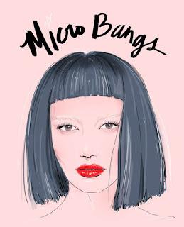 micro bangs - blog vamos papear