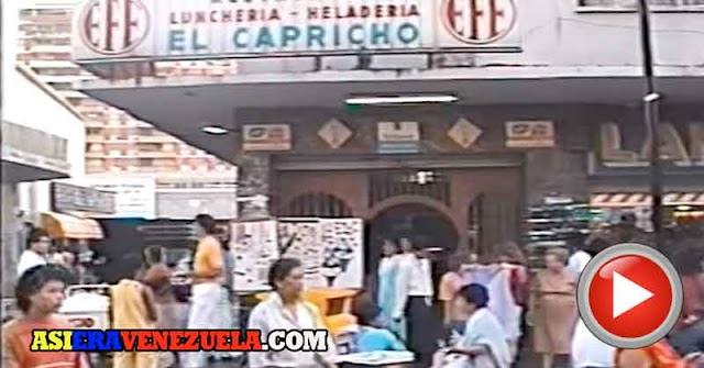 Así era Sabana Grande en 1987 - Video casero de muchos recuerdos