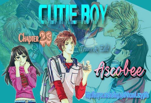 Cutie Boy Chap 023 . Next Chap 24