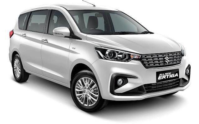 New Maruti Suzuki Ertiga 2018 Paerl White color