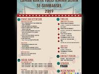 Lomba Karya Tulis Siswa 2019, Buruan Daftar yai