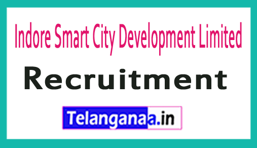 Indore Smart City Development Limited ISCDL Recruitment