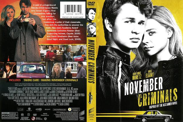 November Criminals DVD Cover