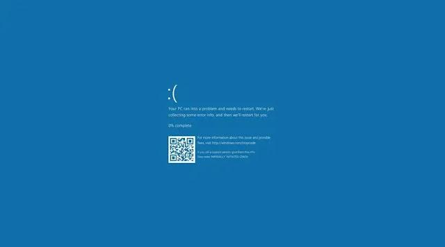 حل مشكلة الشاشة الزرقاء في Windows 10