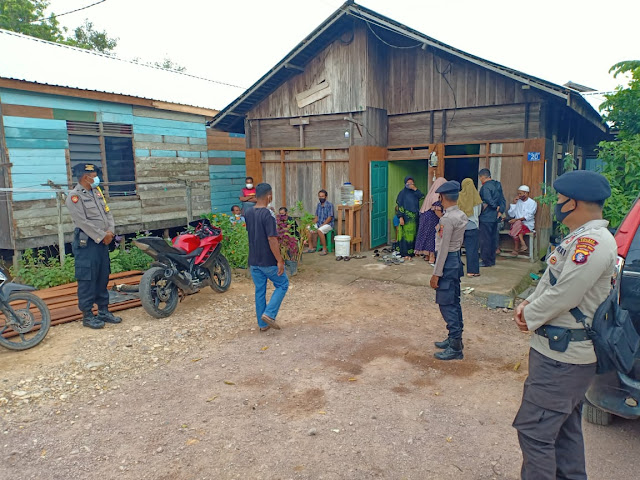 Polres Lamandau Kawal Tahapan Kampanye Pilkada Kalteng