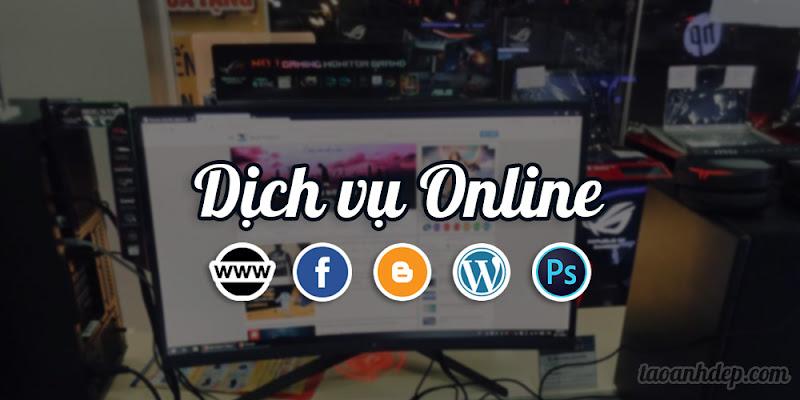 Dịch vụ Online website, facebook