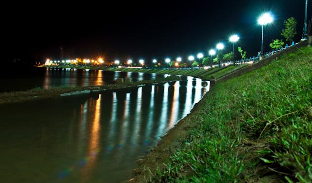 Sông ĐăBla đêm- Nói chuyện với dòng sông