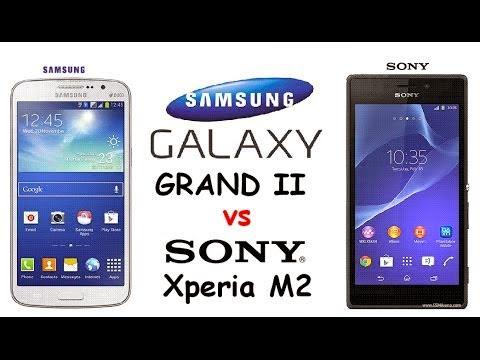 Compare Handphone Samsung Galaxy Grand 2  Vs Sony Xperia M2 Dual