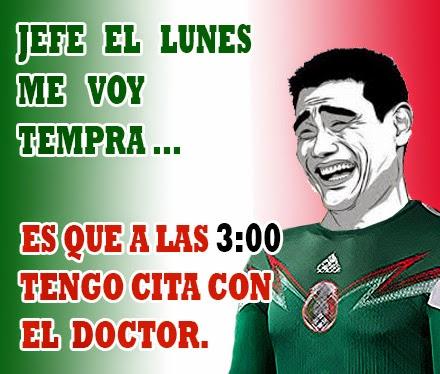 Memes del juego México vs Croacia.