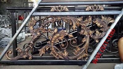 railing klasik untuk rumah mewah