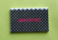 Black polka dot handmade recipe book?ref=shop_home_active_4