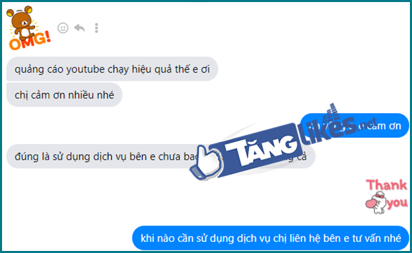 chay quang cao youtube
