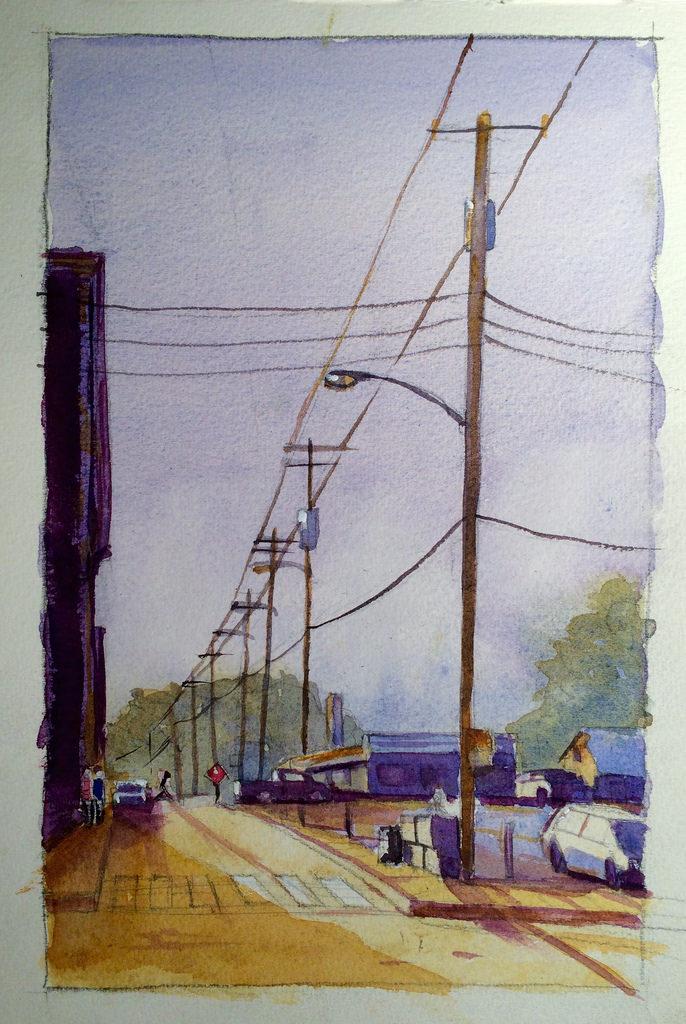 Steve Penberthy Adventures In Watercolor