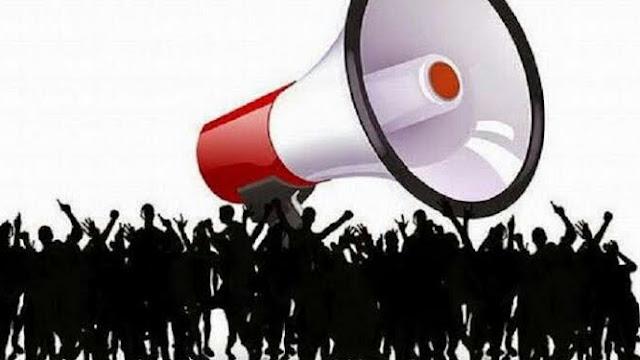 Tolak revisi R-KUHP, serta UU KPK  Mahasiswa demo di Gedung DPR - MPR RI