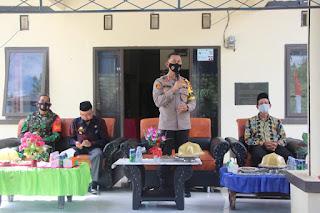 Kapolres Enrekang Silaturahmi Bersama Empat Pilar se-Kecamatan Malua