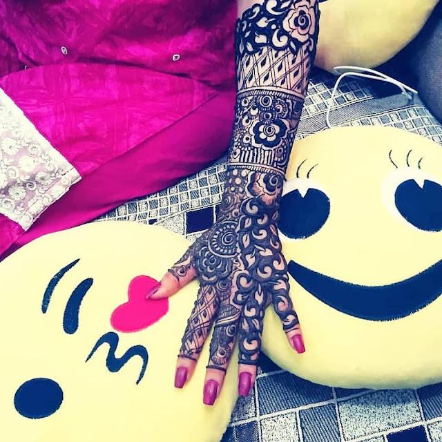 mehndi designs arabic front hand
