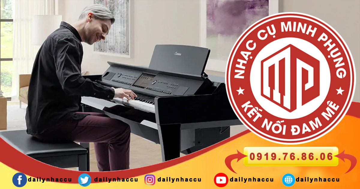 Piano điện yamaha clavinova CVP-809GP