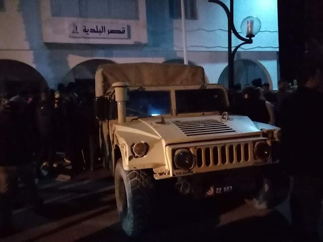 المهدية : الجيش الوطني يؤمن جميع المرافق العامة بمدينة الشابة