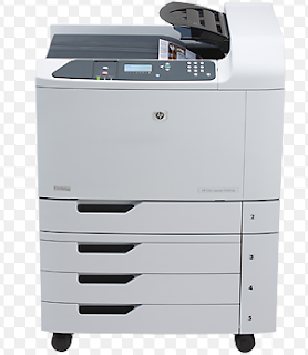 Der HP Color LaserJet CP6015xh-Drucker verfügt über eine druckbare Kapazität von 41 a-4 ppm für Farbe und auch schwarz