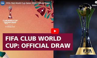 Former -Switzerland- goalkeeper- Diego- Benaglio  assist The FIFA- Club- World- Cup -Qatar- 2020™- Official -Draw