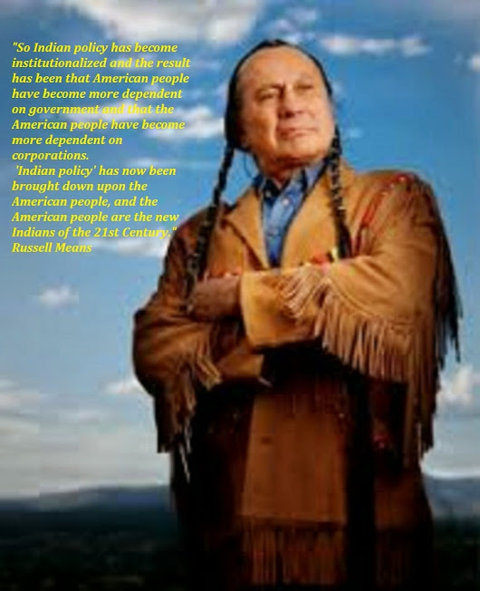 Russell Means: Remembering the Names of the Clouds