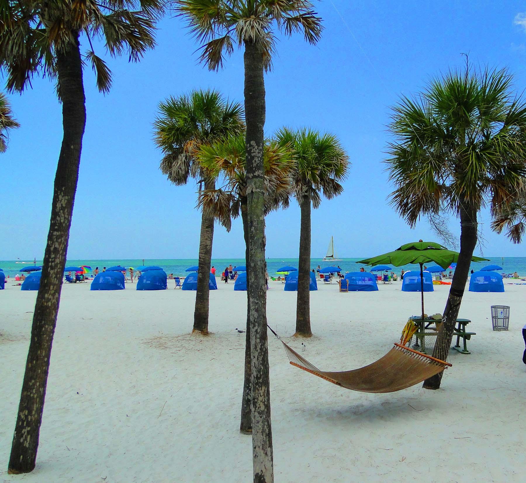 Clearwater Beach, Costa Oeste da Flórida, EUA