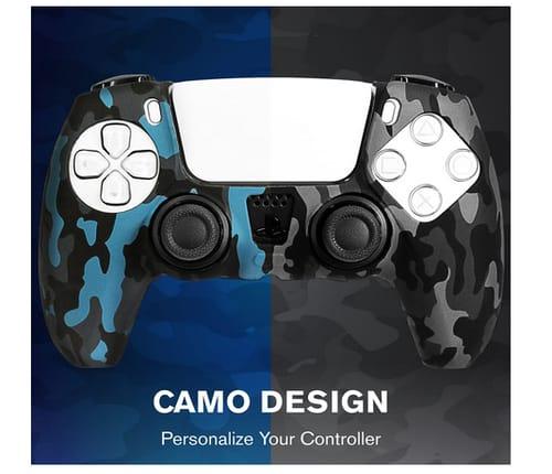 Fosmon PS5 Controller Non-Slip Skin Protective Case Cover