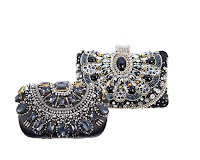 Glitzy clutches