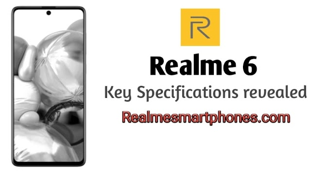 The Alliance listing revealed the specification of Realme 6 and launch in India.