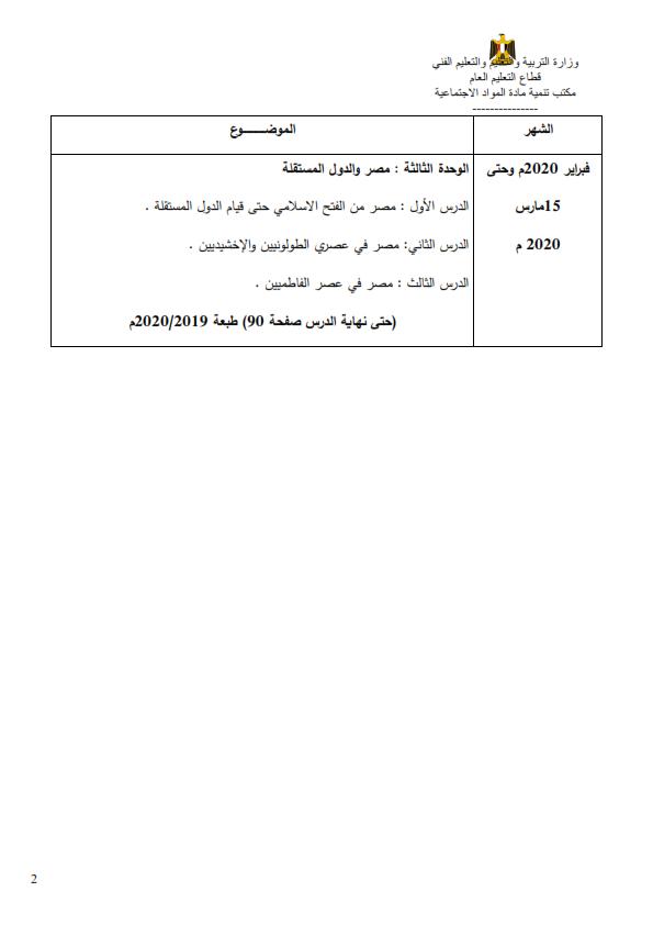 المناهج المقررة في المشروعات البحثية أو الإمتحانات من الصف الثالث الإبتدائي حتى الثالث الثانوي في جميع المواد حتى ١٥ مارس ٢٠٢٠  %2B%25286%2529_002