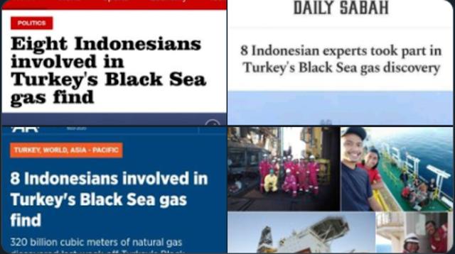 Benar-benar Dihargai! Media Turki Puji 8 Tenaga Ahli Indonesia Yang Temukan Gas Alam Terbesar