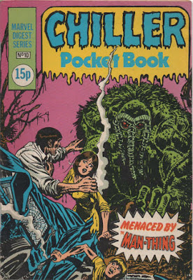 Chiller Pocket Book #10, Man-Thing