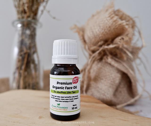 Premium Organic Face Oil Arum Nusantara