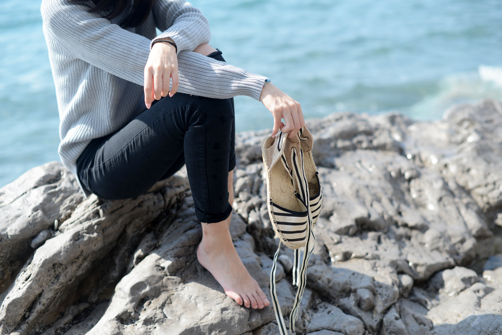 Soludos Tie Espadrilles in Positano Amalfi Coast Italy / FOREVERVANNY.com