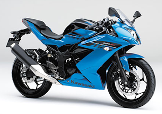 Kawasaki Ninja 250SL Candy Plasma Blue biru