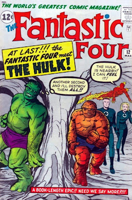 Fantastic Four #12, the Hulk