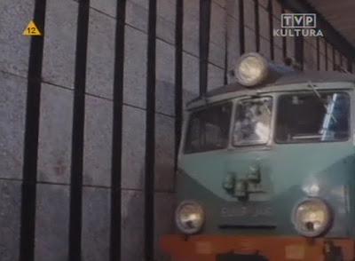 elektrowóz w filmie