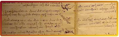 Leonardo da Vinci scriveva Specularmente