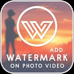 تحميل تطبيق Watermark On Photo & Video  Pro Apk اضافة علامة مائية على الصور والفيديو