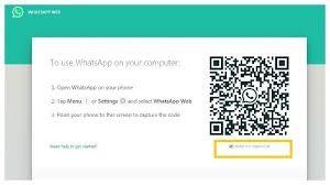 cara masuk whatsapp web tanpa qr code