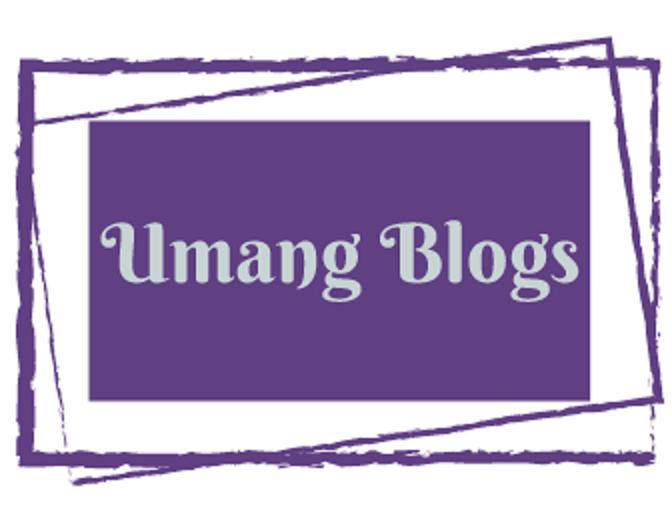 Umang blogs